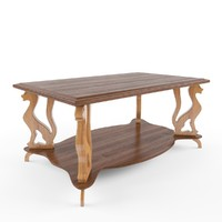 carved wooden table max