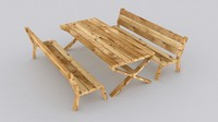 max picnic wood table