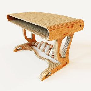 3d parametric table