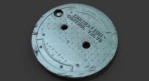 3d obj scan irrigation control cover