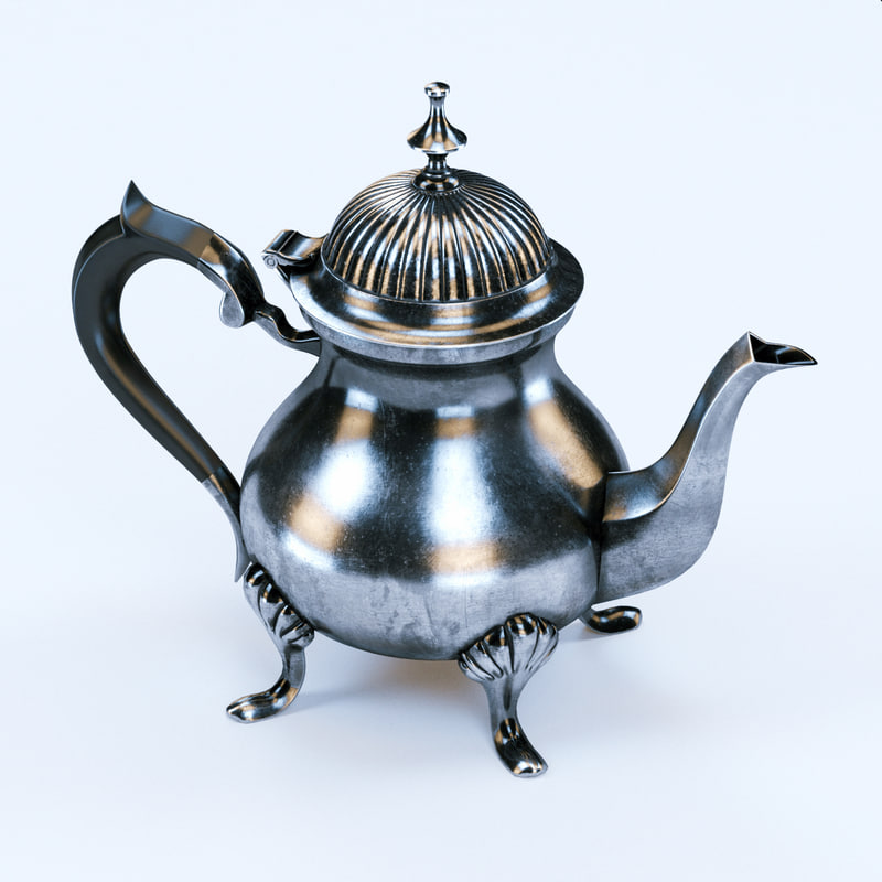 3d model coffee pot