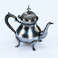 Photorealistic Vintage Coffee Pot