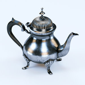 3d model coffee pot