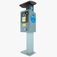 3d ny parking meter model