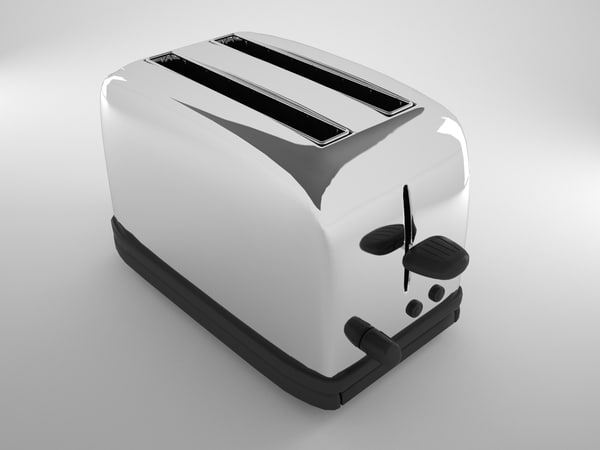 3d model of toaster