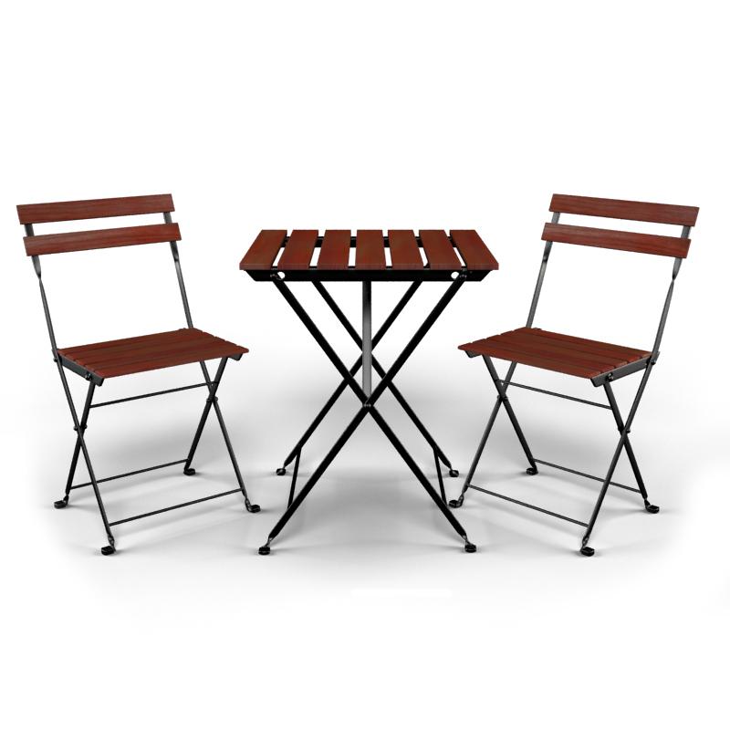 Ikea Tavoli Da Esterno.Modello 3d Tavolo E Sedia Da Esterno Ikea Tarno Turbosquid 988759