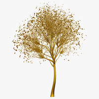 brass tree 3d model