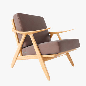 3ds max chair armchair oliviano