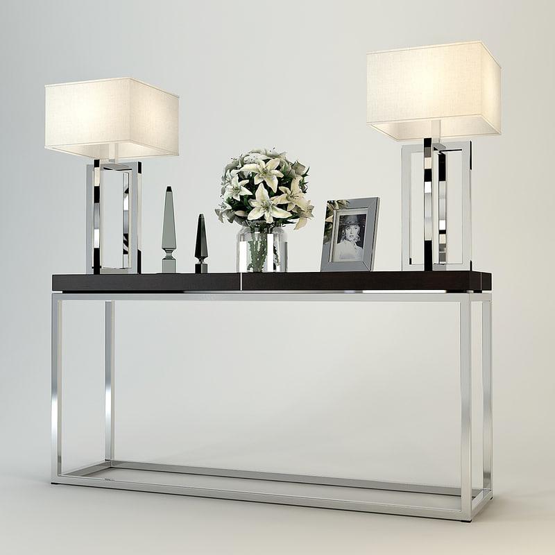 3ds eichholtz table console magnum