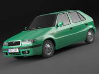 Skoda Felicia Facelift 98-01 exterior model