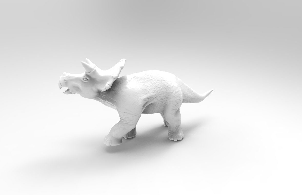 triceratops 3d obj