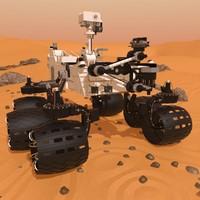 3d rover mars spirit