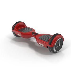 3d model of balance hoverboard