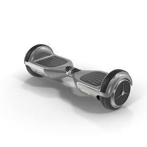 scooter hoverboard 3d max