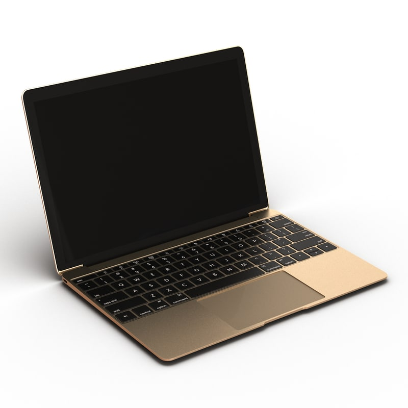 3d generic laptop 2 model