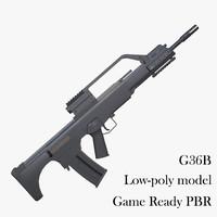 3d model ready g36b