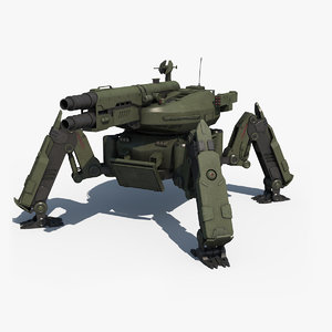 3d spider tank
