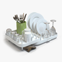 3d kitchen set model