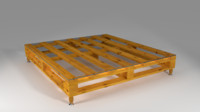 pallet table design 3d max