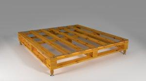 pallet table design 3d max