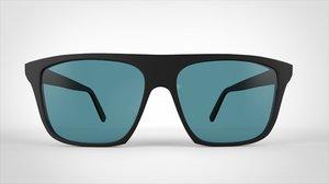 luanda sunglass 3d model