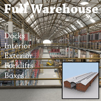 Warehouse Storage Building