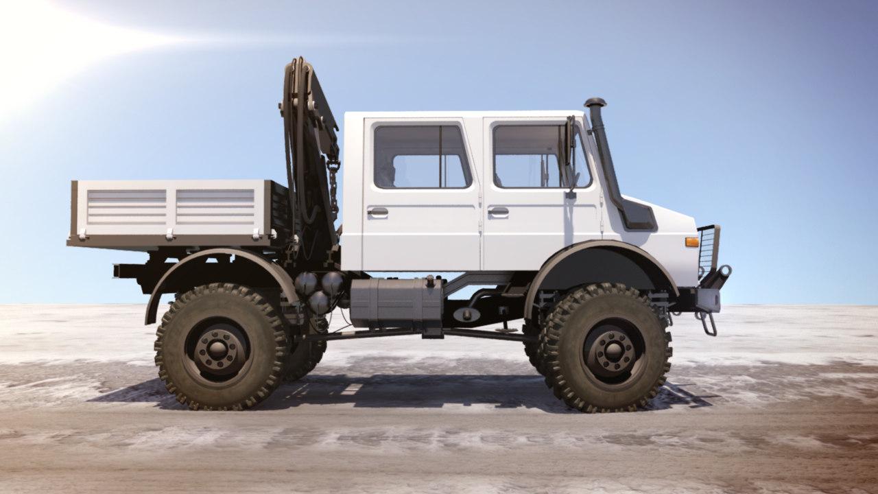 unimog utility vehicle 3ds