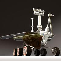mars rover fbx