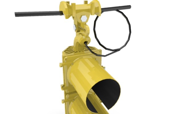 traffic signal 8 inch 3d 3ds