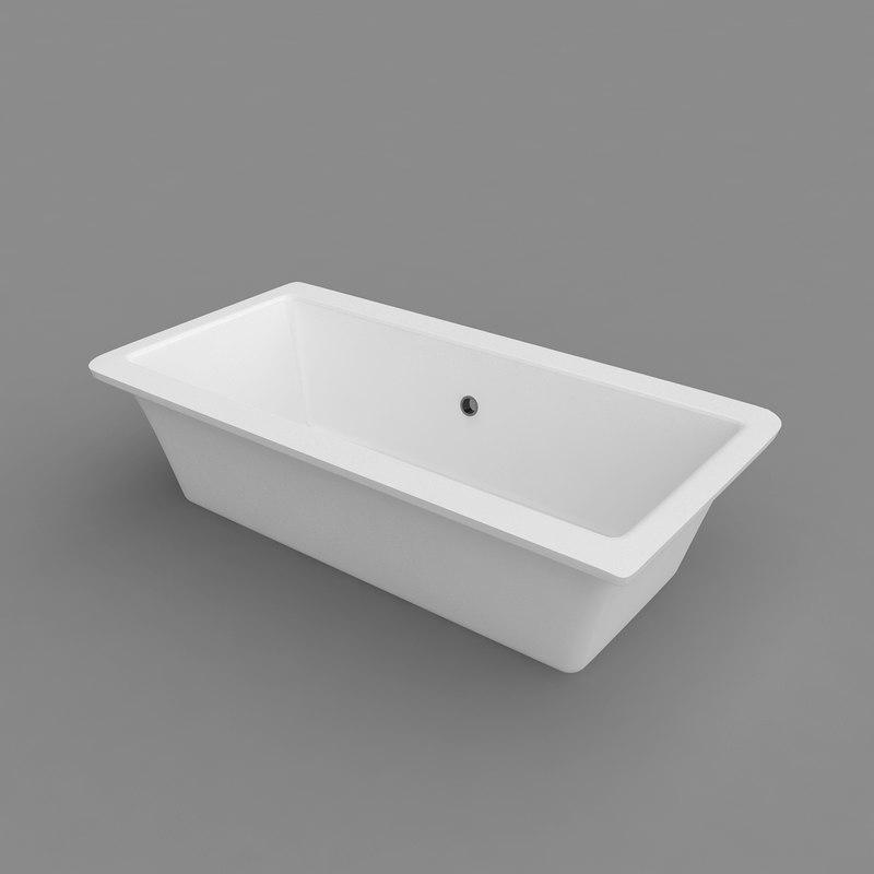 villeroy legato bath 3d 3ds