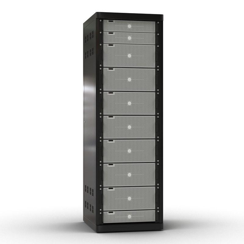 generic servers rack 2 3ds