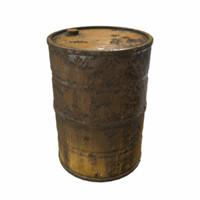 3d model barrel pbr