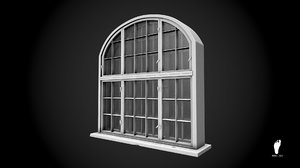 3d big window