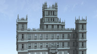 c4d downton abbey castle