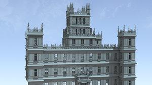 c4d downton abbey castle