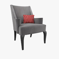 3d model chair bolier modern