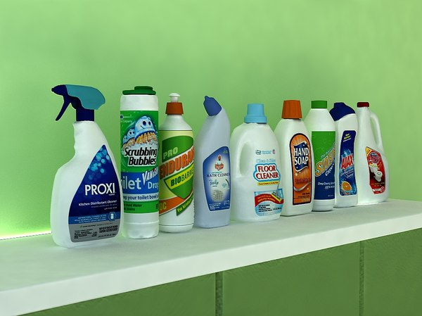 3d model cleaning product