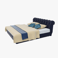 bed - 3d max