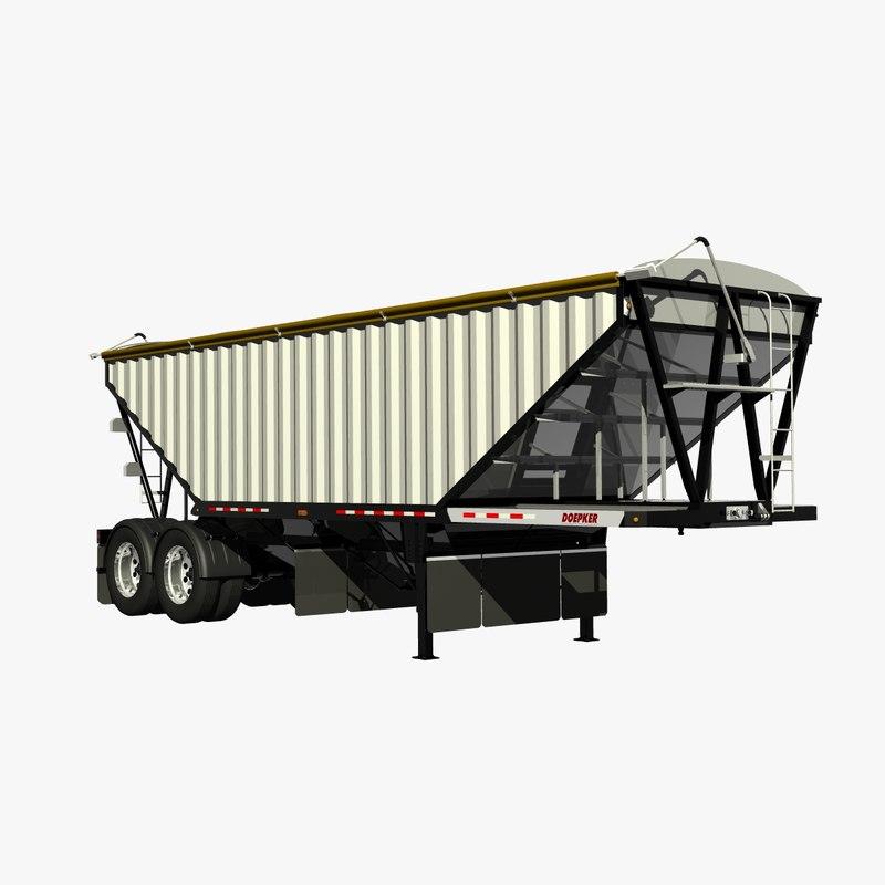 3d doepker 30ft grain bulker