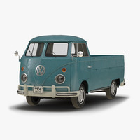 Volkswagen Type 2 Single Cab Pick Up Blue