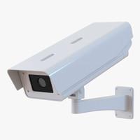 3d cctv camera model