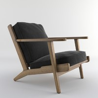 Brooks Lounge Chair (Arm chair)