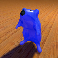 toy mouse 3d model