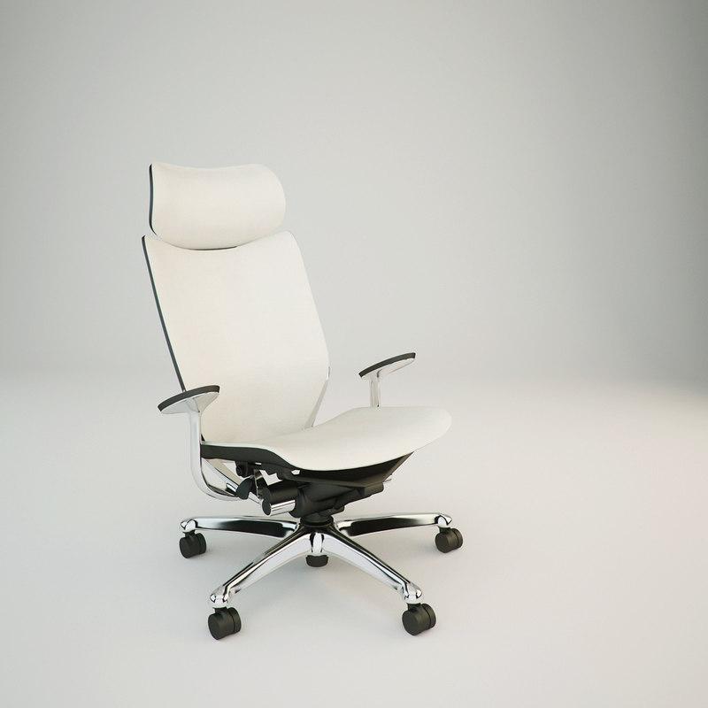 okamura atlas chair obj