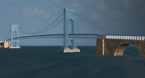 3d george washington bridge