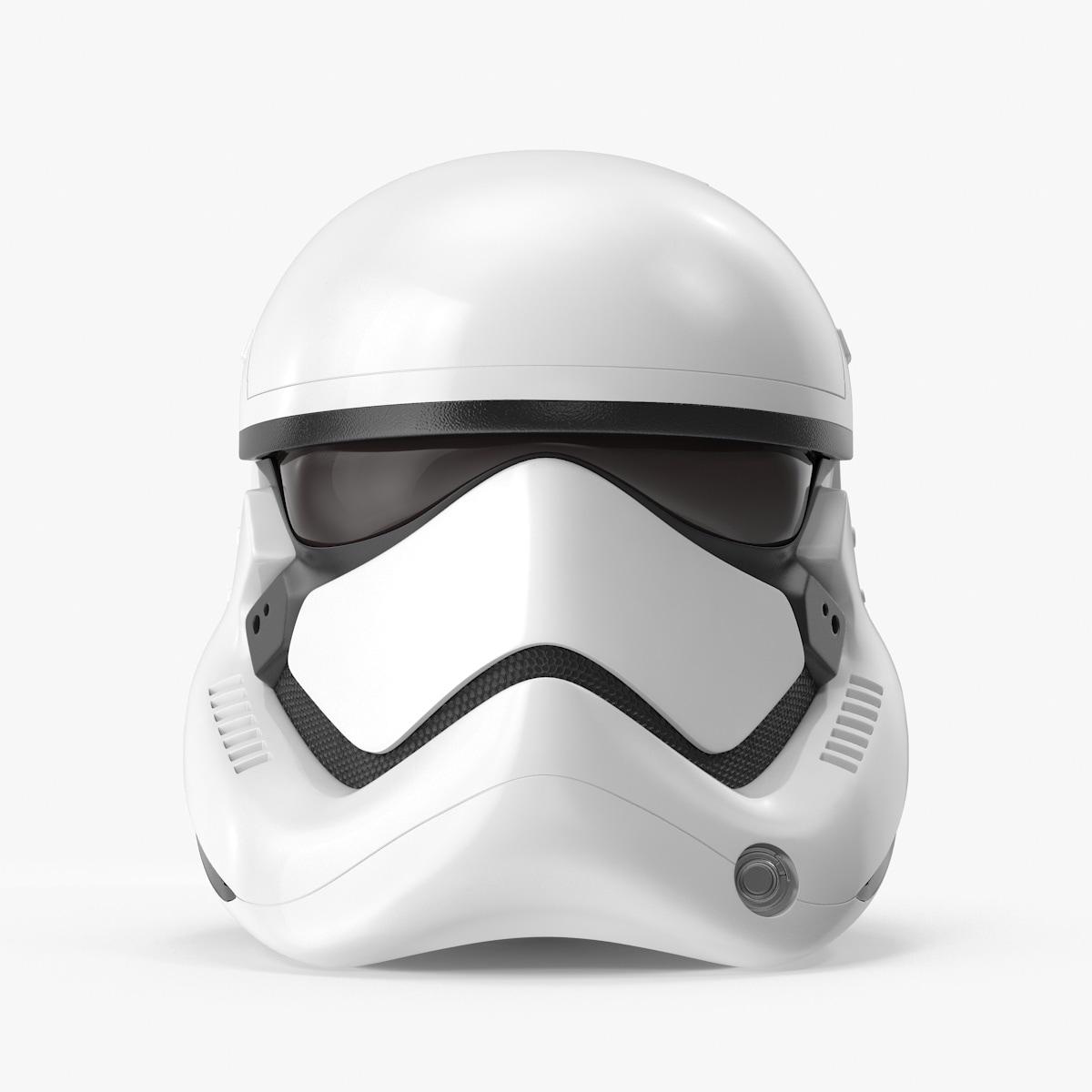 stormtrooper helmet 3d c4d