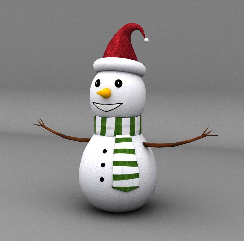 3ds max snowman 2016