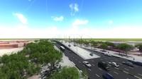 steel bridge 3d 3ds