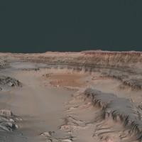 3ds max hills cliffs terrain