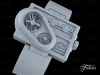 3d model harry winston histoire tourbillon